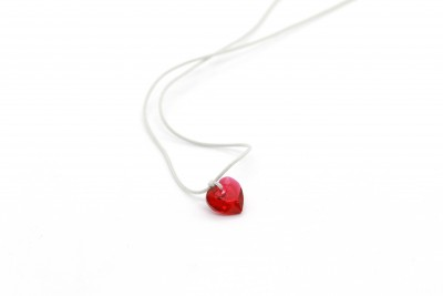 LOVE IS ALL HEART necklace...